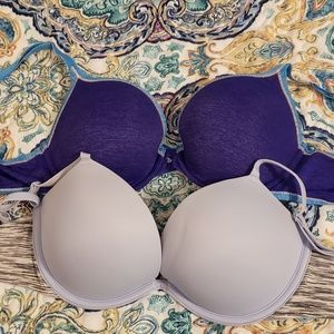 Two Victorias Secrets Push up bras